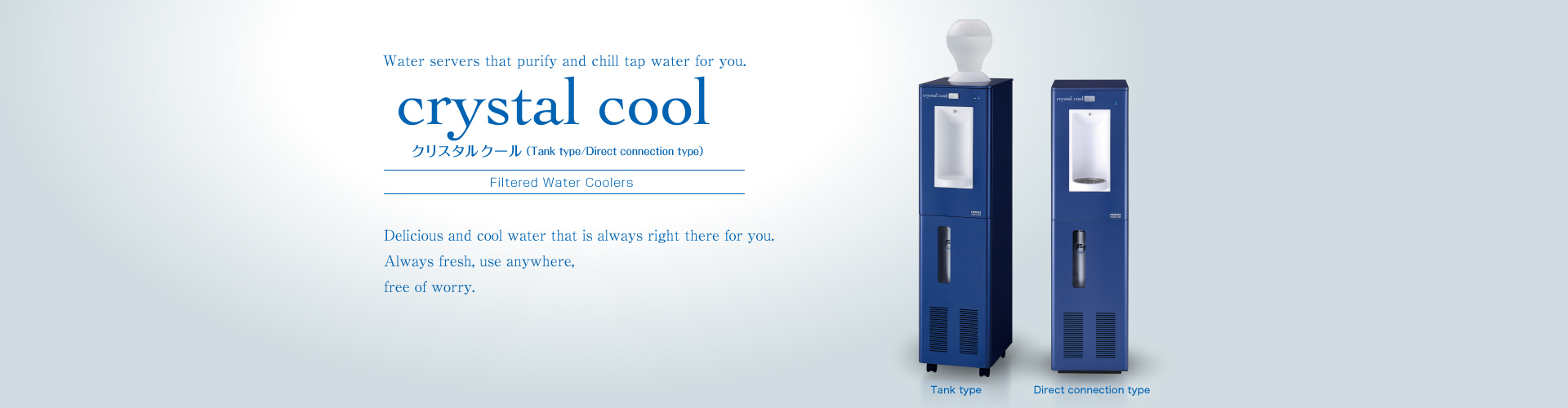 Crystal Cool 2 Filtered Water Coolers